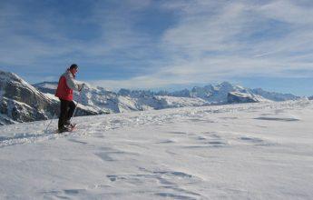 "Snowshoeing : ""Panorama Day"" with Arnaud Rando"