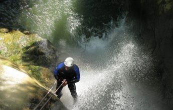 Canyoning trip in Haute-Savoie
