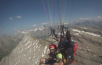 Tandem paragliding course