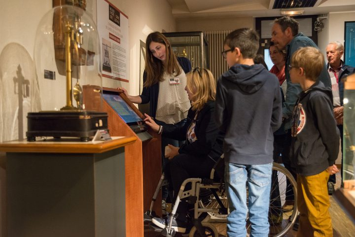 Group visit at the Museum of Clockmarking and Screwcutting in Cluses