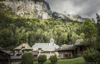 Guided tour with commentary of the village of Sixt-Fer-à-Cheval