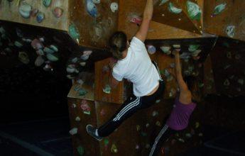 Climbing wall Centre R. Bozon