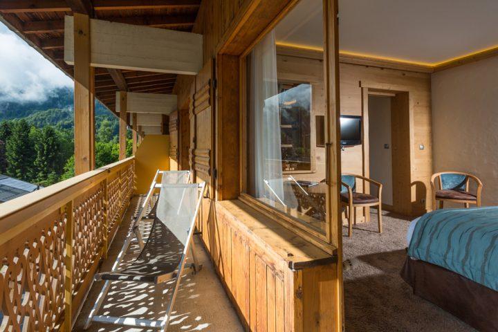 Balcony luxury suite
