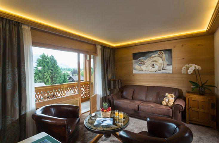Living room luxury suite