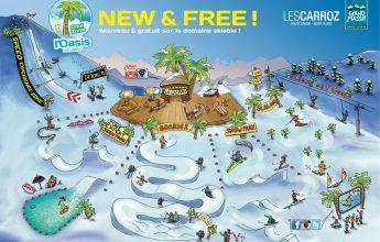 Oasis Zone: boadercross, slalom and video zone